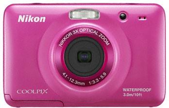 Digitální kompakt Nikon Coolpix S30 Pink ROZBALENO