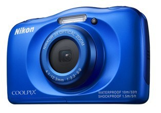 Digitální kompakt Nikon COOLPIX S33 blue backpack kit