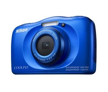 Digitální kompakt Nikon Coolpix S33 Blue