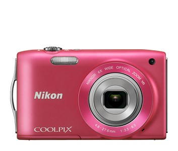 Digitální kompakt Nikon Coolpix S3300 Pink