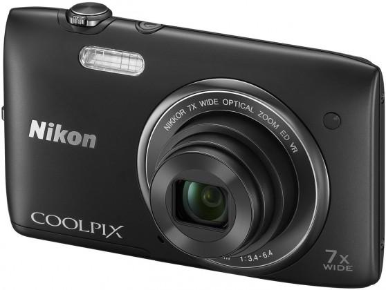 Digitální kompakt Nikon Coolpix S3500 Black