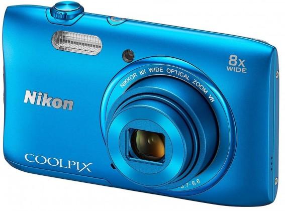 Digitální kompakt Nikon Coolpix S3600 Blue