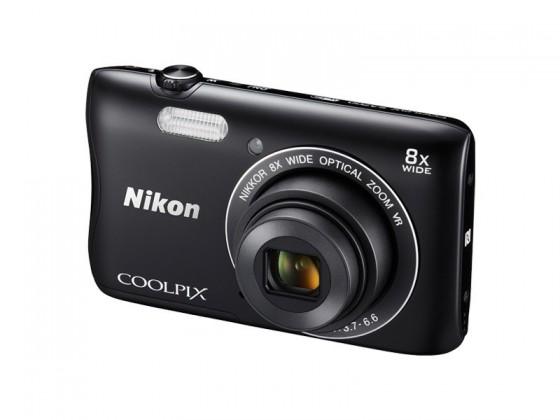 Digitální kompakt Nikon COOLPIX S3700 black