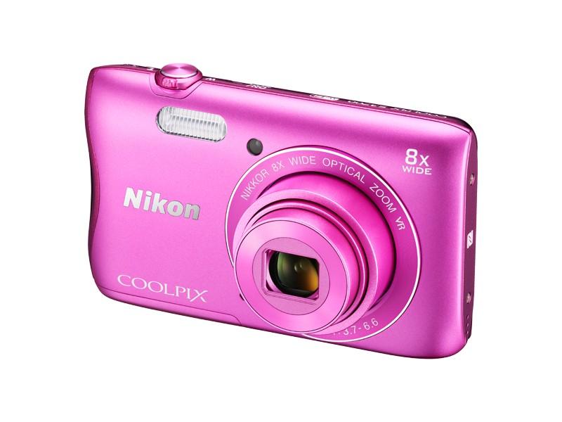 Digitální kompakt Nikon COOLPIX S3700 pink
