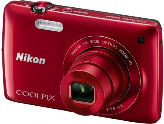 Digitální kompakt Nikon Coolpix S4300 Red