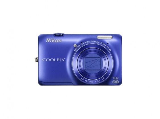 Digitální kompakt Nikon Coolpix S6300 Blue