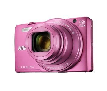 Digitální kompakt Nikon COOLPIX S7000 pink