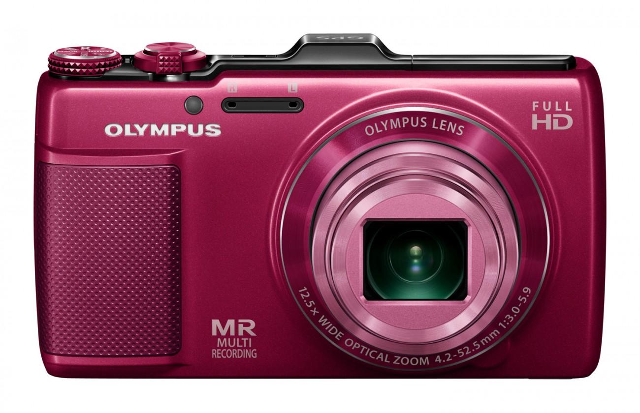 Digitální kompakt Olympus SH-25MR Red