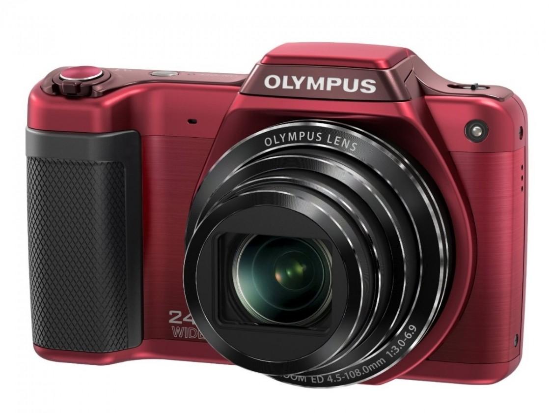 Digitální kompakt Olympus SZ-15 Red