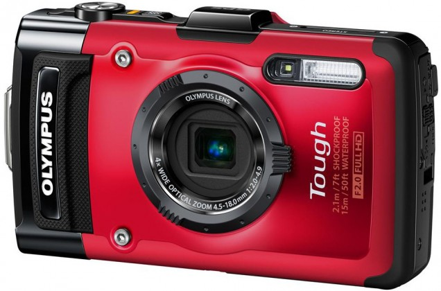 Digitální kompakt Olympus TG-2 Red