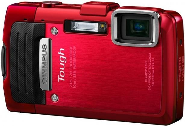 Digitální kompakt Olympus TG-830 Red