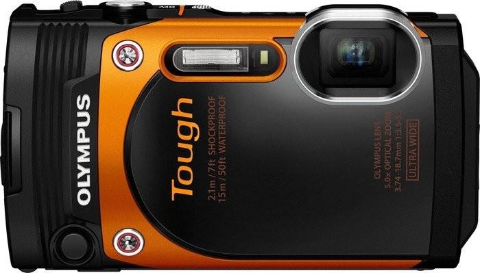 Digitální kompakt Olympus TOUGH TG-860 oranžový
