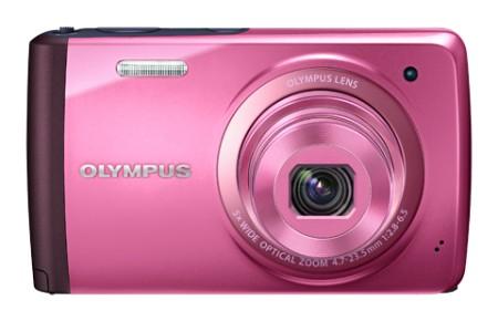 Digitální kompakt Olympus VH-410 - 16 MP, 5x zoom iS - Pink