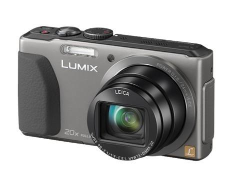 Digitální kompakt Panasonic Lumix DMC-TZ40 Silver