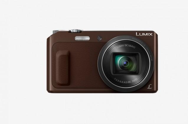 Digitální kompakt Panasonic LUMIX DMC-TZ57 hnědý