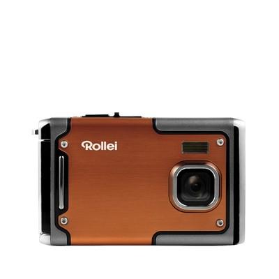 Digitální kompakt Rollei Sportsline 85 outdoor sportovní kamera, oranžová