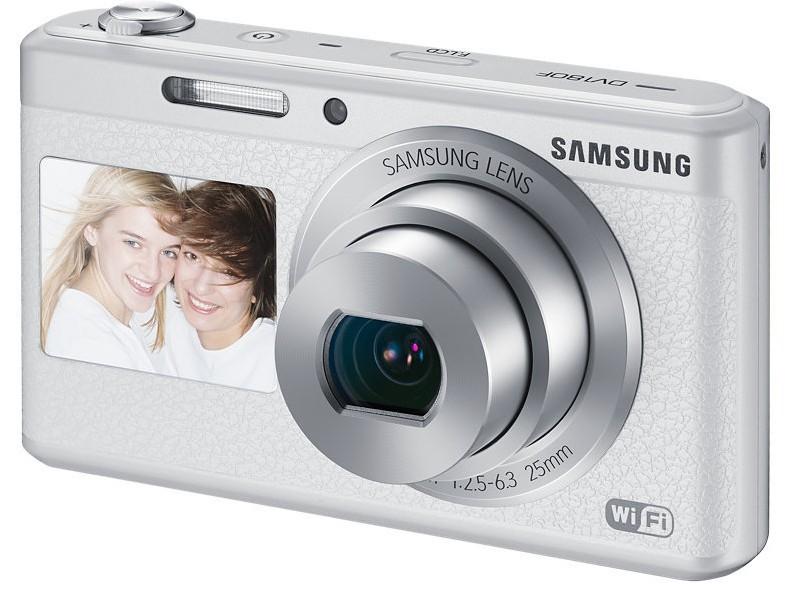 Digitální kompakt Samsung DV180F white
