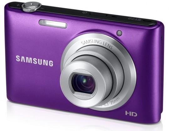 Digitální kompakt Samsung ST72, fialový