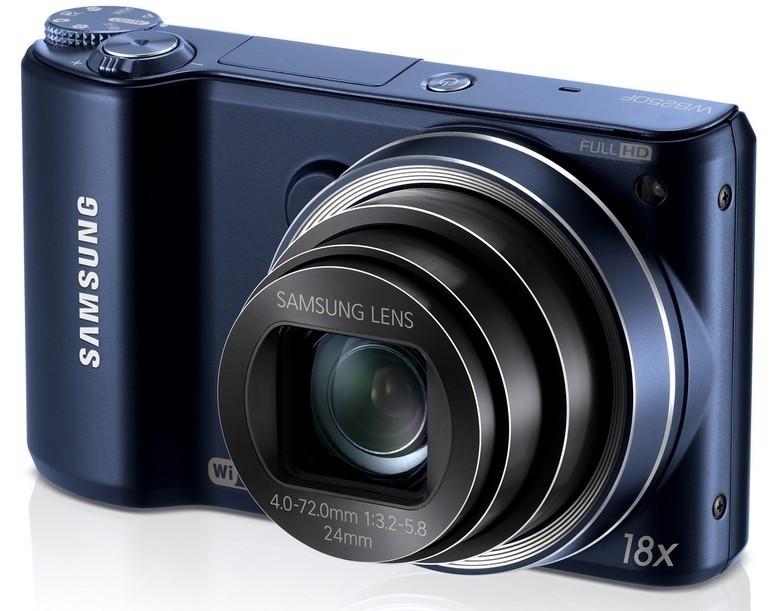 Digitální kompakt Samsung WB250, černý