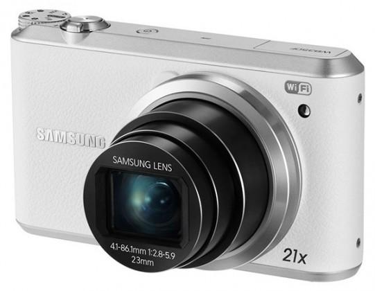 Digitální kompakt Samsung WB350F, bílý