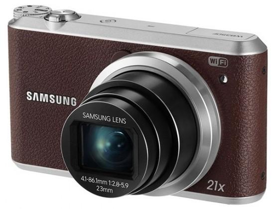 Digitální kompakt Samsung WB350F, hnědý