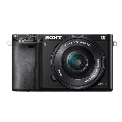 Digitální kompakt Sony Alpha 6000, 16-50mm, Black (ILCE6000LB.CEC) POUŽITÉ