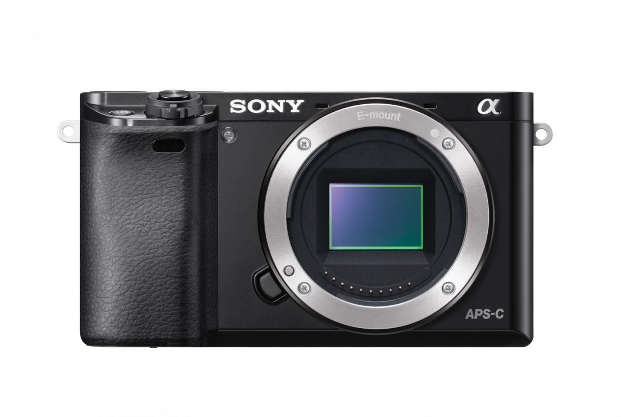Digitální kompakt Sony Alpha 6000, tělo, black (ILCE6000B.CEC)