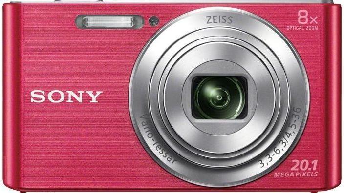 Digitální kompakt Sony CyberShot DSC-W830 ružový