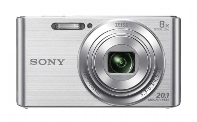 Digitální kompakt Sony CyberShot DSC-W830 stříbrný
