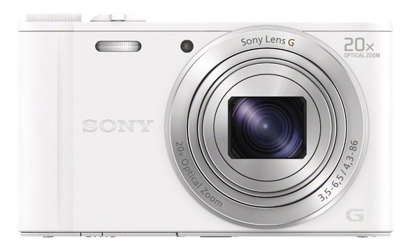 Digitální kompakt Sony CyberShot DSC-WX350 bílý