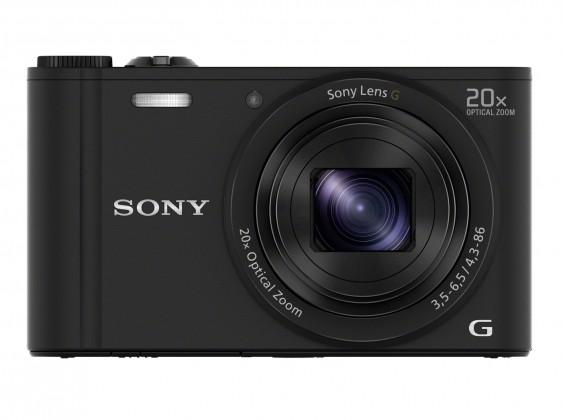 Digitální kompakt Sony CyberShot DSC-WX350 černý