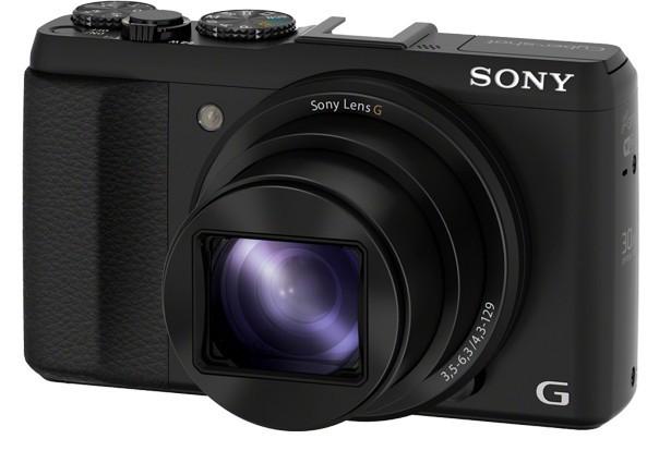 Digitální kompakt Sony DSC-HX50 černá,20,4Mpix,30xOZ,WiFi