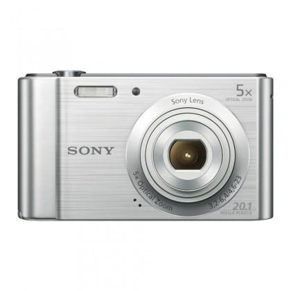 """Digitální kompakt SONY DSC-W800S 20,1 MP, 5x zoom, 2,7 """" LCD - Silver"""