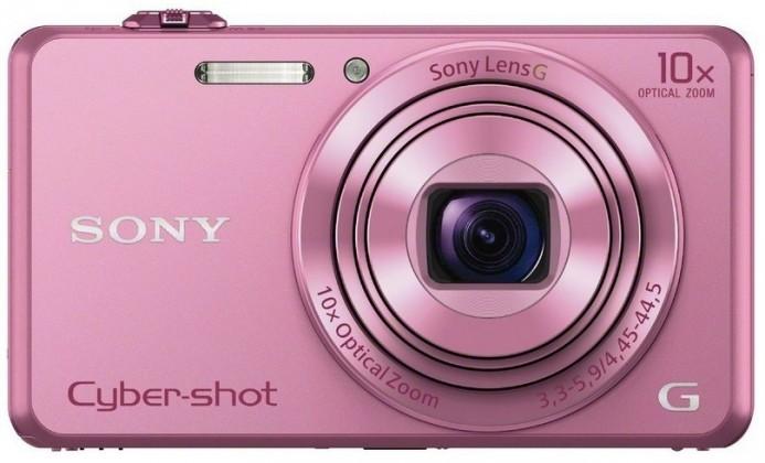 Digitální kompakt Sony DSC-WX220 růžová,18,2Mpix,10xOZ,fullHD,WiFi růžová