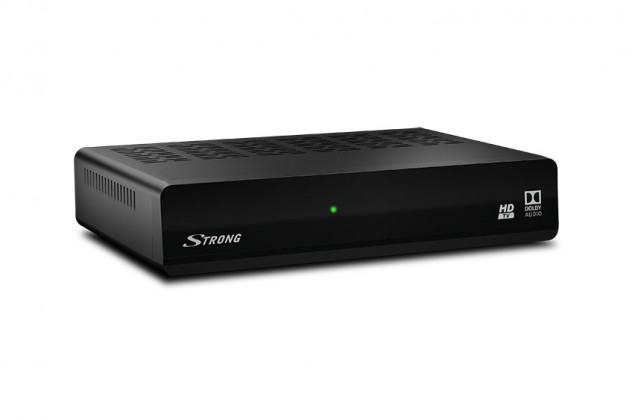 Digitální příjem ZLEVNĚNO STRONG DVB-S2 přijímač SRT 7006 ROZBALENO POUŽITÉ, NEOPOTŘEBENÉ Z