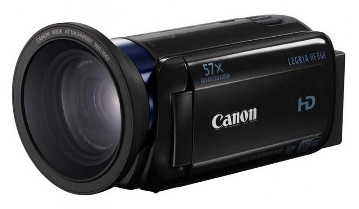 Digitální videokamera Canon Legria HF R68, Full HD, 32x zoom, Wi-Fi