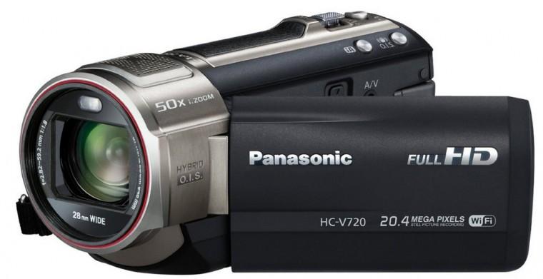 Digitální videokamera Panasonic HC-V720