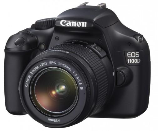 Digitální zrcadlovka Canon EOS 1100D BLACK + EF 18-55 IS II ROZBALENO