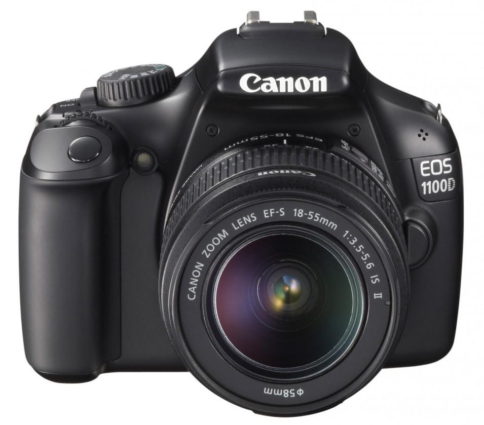 Digitální zrcadlovka Canon EOS 1100D BLACK + EF 18-55 IS II