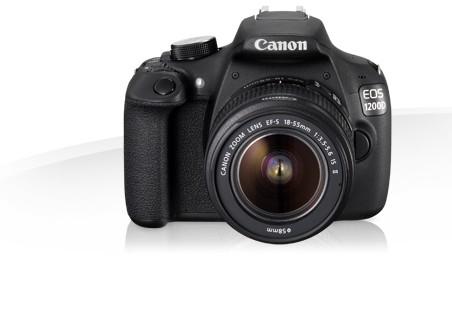 Digitální zrcadlovka Canon EOS 1200D + 18-55DC Value Up Kit