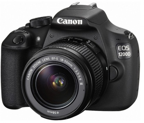 Digitální zrcadlovka Canon EOS 1200D + 18-55DC Value Up Kit ROZBALENO