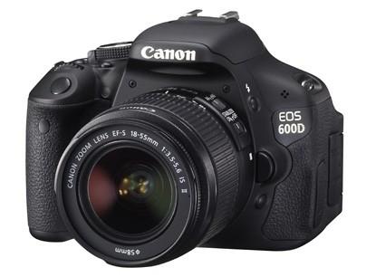 Digitální zrcadlovka Canon EOS 600D + EF 18-55 IS + EF 55-250 IS