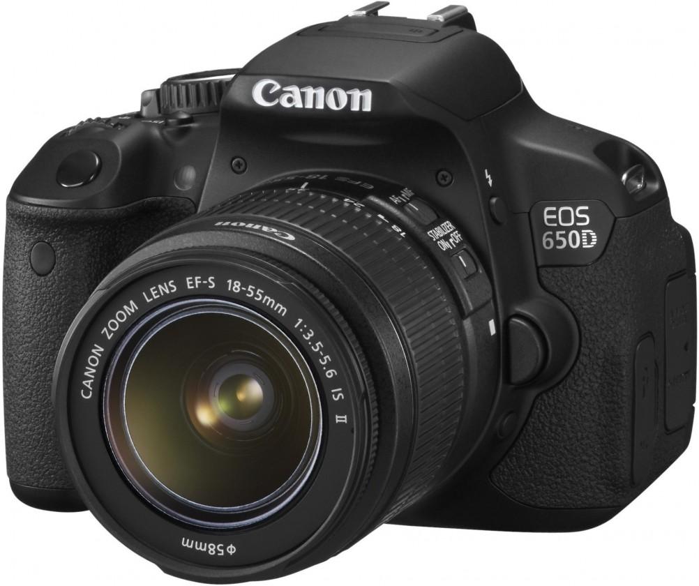 Digitální zrcadlovka Canon EOS 650D + 18-55 mm IS II