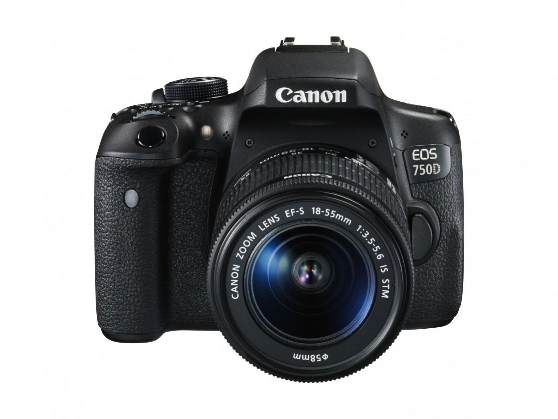 Digitální zrcadlovka Canon EOS 750D zrcadlovka + EF-s 18-55 IS STM