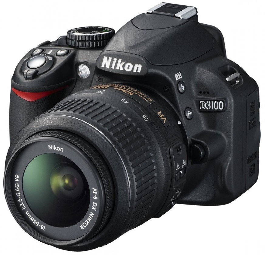 Digitální zrcadlovka Nikon D3100 + 18-55 AF-S DX VR