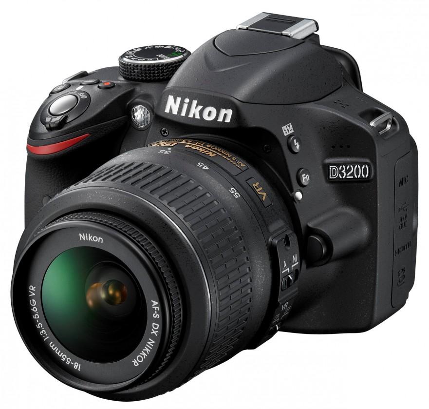 Digitální zrcadlovka Nikon D3200 + 18-55 DX II