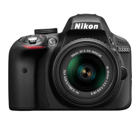 Digitální zrcadlovka Nikon D3300 + 18-55 AF-S DX VR II + 55-200 VRII