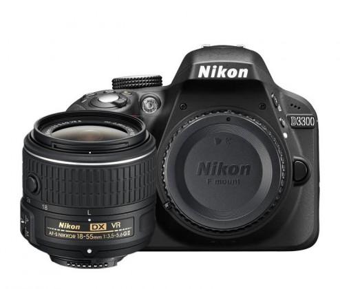 Digitální zrcadlovka Nikon D3300 + 18-55 DX II