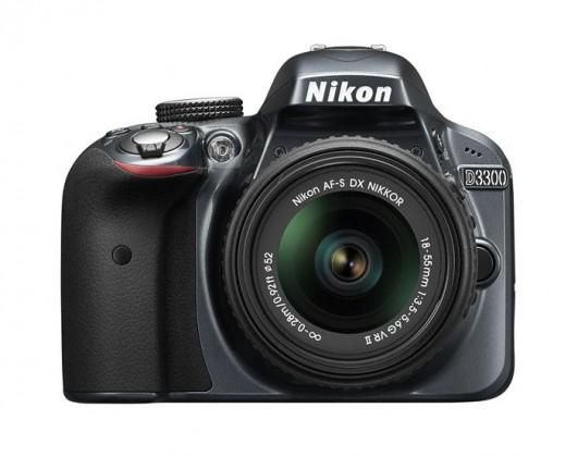 Digitální zrcadlovka Nikon D3300 Grey + 18-55 VR II
