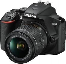 Digitální zrcadlovka Nikon D3500 + objektiv 18-105mm, černá